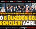 DTO 8 ülkeden 15 öğrenciyi ağırladı