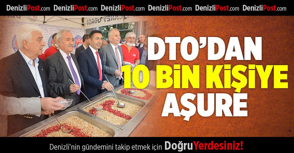 DTO'dan 10 Bin Kişiye Aşure