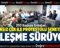 KARŞILIKSIZ ÇEK İLE PROTESTOLU SENETLERDEKİ İYİLEŞME SÜRÜYOR