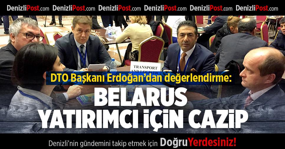 Erdoğan'dan Belarus değerlendirmesi