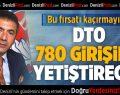 DTO 780 Girişimci Yetiştirecek