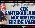 Erdoğan, DTO'nun bilgilendirme seminerine davet etti
