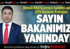 Başkan Erdoğan: Sayın Bakanımızın Yanındayız