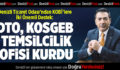 DTO, KOSGEB TEMSİLCİLİK OFİSİ KURDU