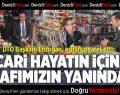 DTO Başkanı Erdoğan, esnafı ziyaret etti