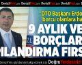 Denizli Vergi Dairesi Başkanı Öztaş, DTO Başkanı Erdoğan'ı Ziyaret Etti