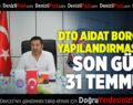 DENİZLİ VERGİ DAİRESİ BAŞKANI'NDAN DTO BAŞKANI ERDOĞAN'A ZİYARET