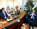 Şahin Tin'den DTO Başkanı Erdoğan'a Ziyaret