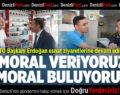 DTO Başkanı Erdoğan Esnaf Ziyaretlerine Devam Ediyor