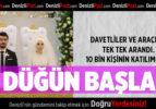 Ekonomi Bakanı Zeybekci'nin kızının düğünü başladı