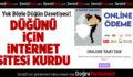 Düğünü İçin İnternet Sitesi Kurdu