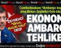 Bakan Zeybekci'den Dikkat Çeken Kuzey Irak ve Ohal Açıklaması