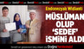 Endonezyalı Widianti, Müslüman olup 'Sedef' ismini aldı