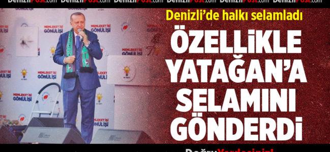 Cumhurbaşkanı Erdoğan, Denizlililerle Buluştu