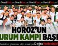 Denizlispor'un Erzurum kampı başladı