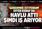 'GEBERMEK İSTİYORUM' DİYEN ESNAF DA HAVLU ATTI, ŞİMDİ İŞ ARIYOR