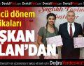 33'ncü dönem sertifikaları Başkan Osman Zolan'dan