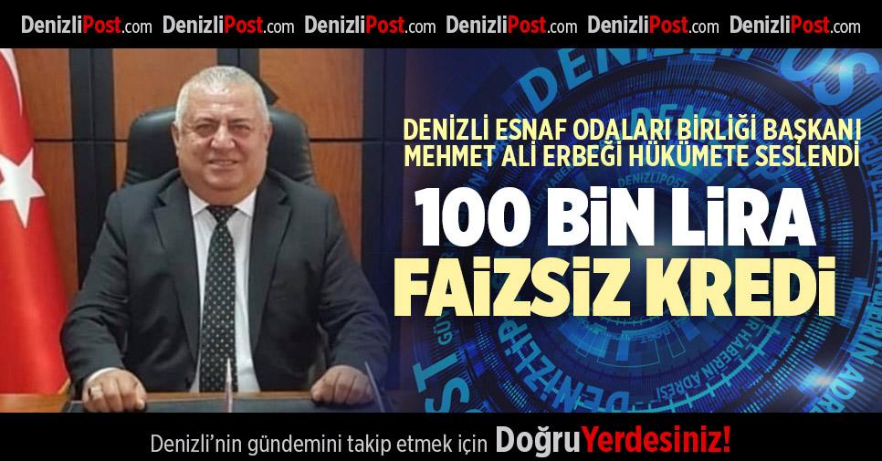 100 BİN LİRA FAİZSİZ KREDİ