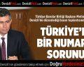 Metin Fevzioğlu:Türkiye'nin bir numaralı sorunu adalettir
