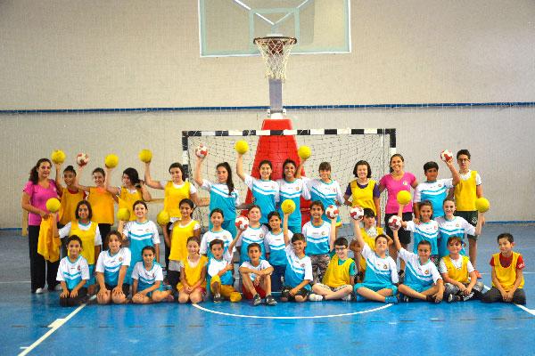 foto 1 190 - Milli sporcular eğitim veriyor