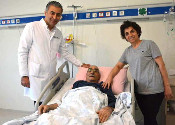 86 yaşında ameliyat masasına yattı