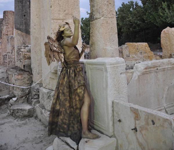 foto 3 64 - Antik kent Tripolis'te defile