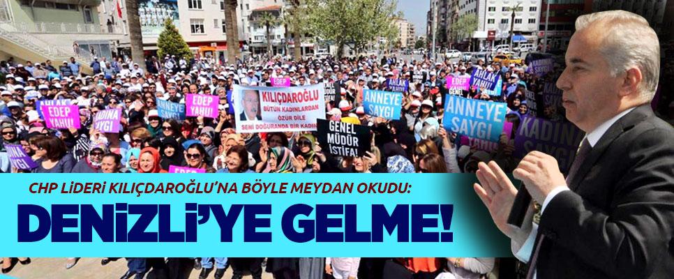 Zolan'dan Kılıçdaroğlu'na: Denizli'ye gelme!