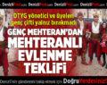 Genç Mehteran'dan Çınar Meydanı'nda Mehteranlı Evlenme Teklifi