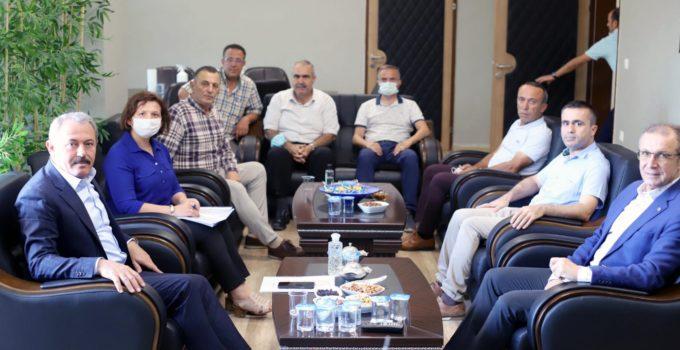 AK Partili Şahin Tin, Gençlik ve Spor İl Müdürü İbanoğlu'nu ziyaret etti.