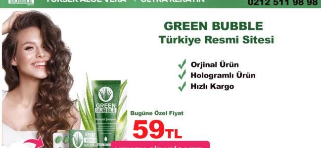 Yeni Saç Dostu Ürün Green Bubble
