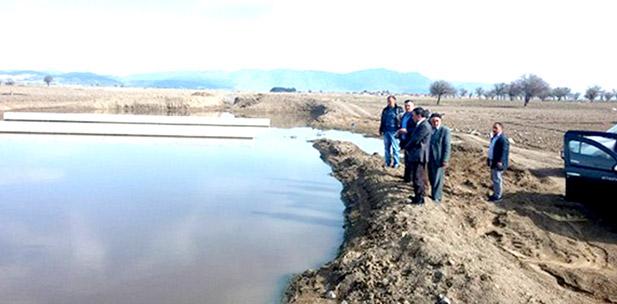 Serinhisar'ın Kanalizasyonu Taştı