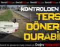 Hacıeyüplü Mahallesi'nde Kaza