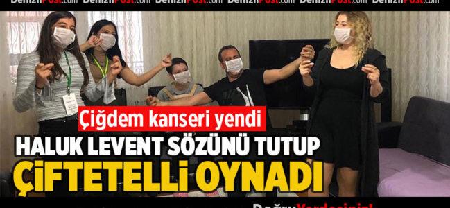 Çiğdem Kanseri Yendi Haluk Levent Sözünü Tutup Çiftetelli Oynadı
