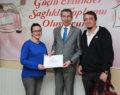 Anne adayları sertifikalarını aldı