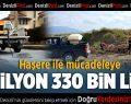 Haşere İle Mücadeleye 4 Milyon 330 Bin Lira