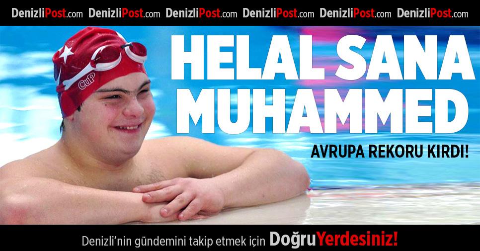 Down sendromlu Muhammed Avrupa'da zirvede