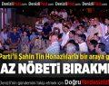 AK Parti Milletvekili Şahin Tin Honaz'da
