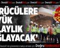 Vali Karahan Honaz Tünellerinde İncelemelerde Bulundu