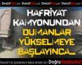 Honaz'da Hafriyat Kamyonu