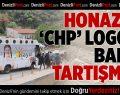 Honaz'da 'CHP' logolu balon dağıtımı tartışması