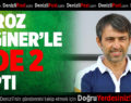 Horoz, Erginer'le 2'de 2 Yaptı