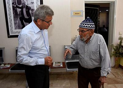 Mustafa Amca İstedi Başkan Şevkan Talimat Verdi