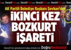 AK Partili Acıpayam Belediye Başkanı'ndan İkinci Kez Bozkurt İşareti
