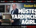 Başkan gürlesin Müsteşar Yardımcısı Tuzcuoğlu'nu Ağırladı
