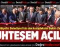Denizli Büyükşehir Belediyesi'nin Dev Kompleksini Bakan Zeybekci Açtı