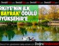 """Türkiye'nin İlk """"Yeşil Bayrak"""" Ödülü Büyükşehir'e"""