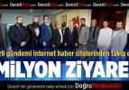 Denizli'de internet haber siteleri aylık 1 milyon ziyaret alıyor