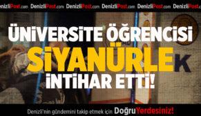 Üniversite Öğrencisi Siyanürle İntihar Etti