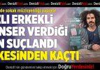 İran'dan kaçtı, Türkiye'de sokak müzisyenliği yapıyor