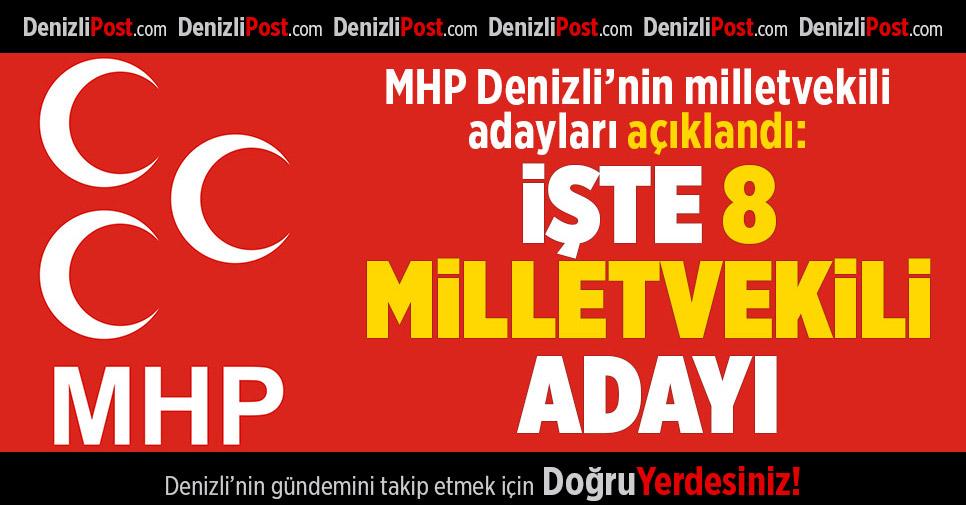 MHP Denizli Milletvekili Adayları Açıklandı